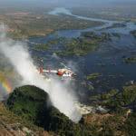 Helicopter Flight Zambezi River