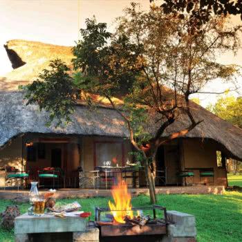 Lokuthula Lodge Exterior