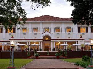 Victoria Falls Hotel Terrace