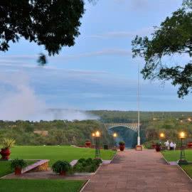 Victoria Falls Hotel View