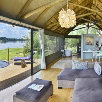 Victoria Falls River Lodge Bedroom