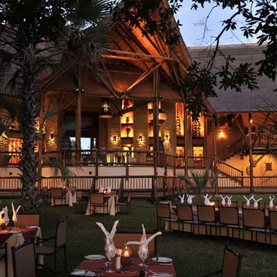 David Livingstone Safari Lodge Exterior