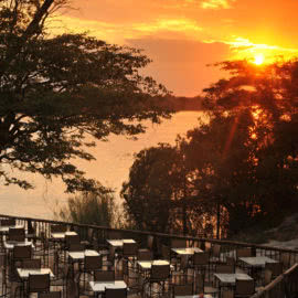 David Livingstone Safari Lodge Sunset