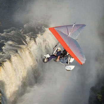 Victoria Falls Microlight Flight