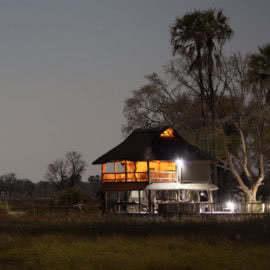 Accommodation Okavango Delta Gunns Camp