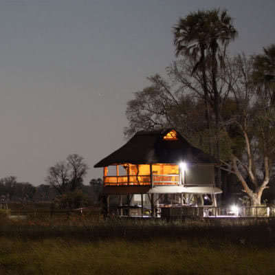 Accommodation Okavango Delta Gunns Camp