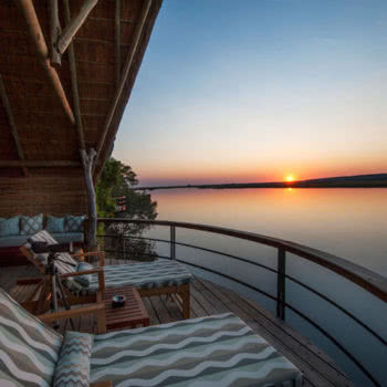 Chobe Water Villas Room View