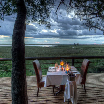 Camp Moremi Private Dining