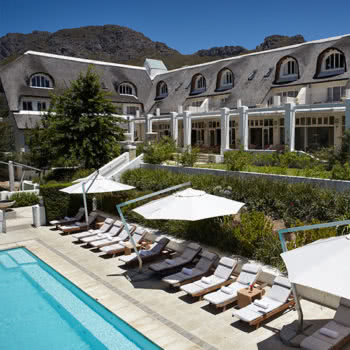 Le Franschhoek Pool Mountain