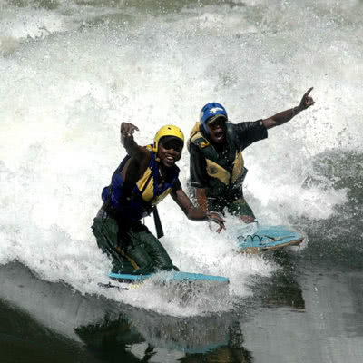 White Water Rafting + River Boarding