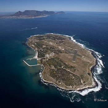 Robben Island aerial