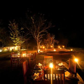 Wildtrack Safaris Eco Lodge Private Dining