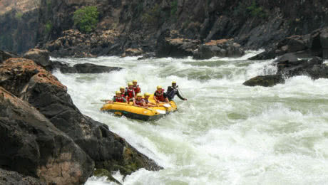 A Guide To The Rapids Of The Mighty Zambezi River