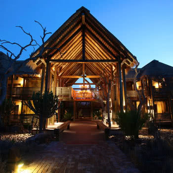 Kapama River Lodge Spa Exterior