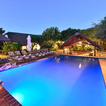 Lobengula Lodge Pool Loungers