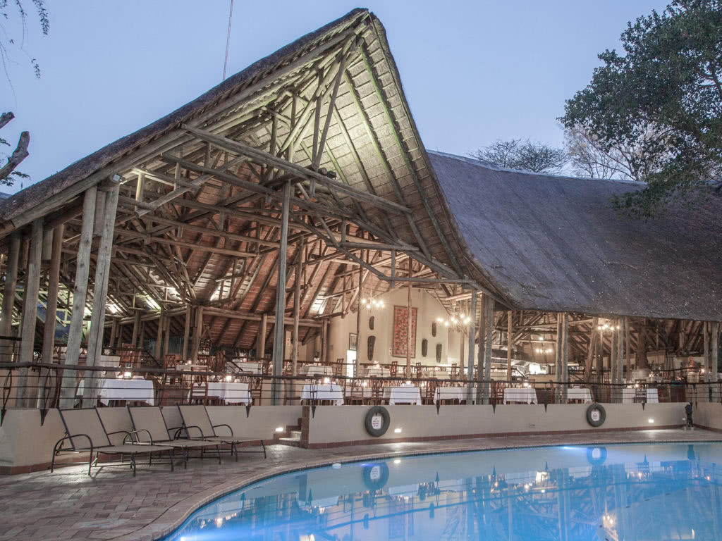 Chobe Safari Lodge Dining