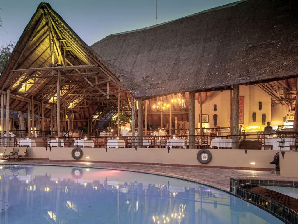 Chobe Safari Lodge Pool View