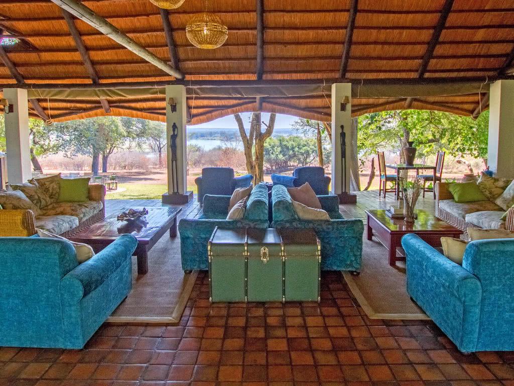 Imbabala Zambezi Safari Lodge Lounge