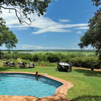 Imbabala Zambezi Safari Lodge Pool