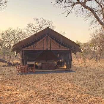 Chobe under canvas Tent Exterior