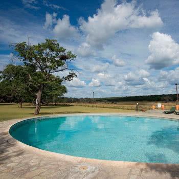 hwange safari lodge Pool