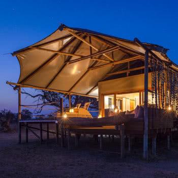 Toka Leya Camp Tent Exterior