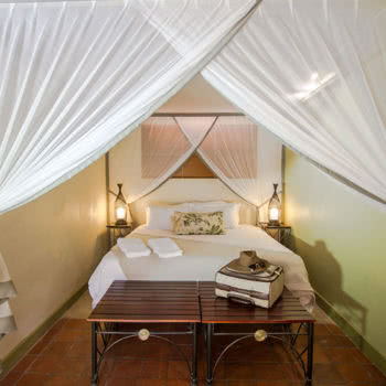 Nguni Lodge Bed White