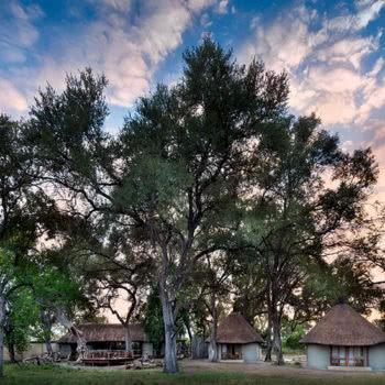 Khwai Bush Camp Main Lodge