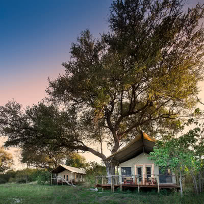 Khwai Tented Camp Luxury Tents